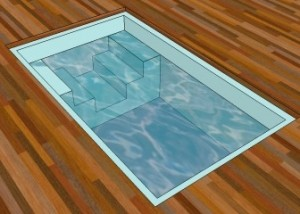 Baptistery - bespoke grp pools