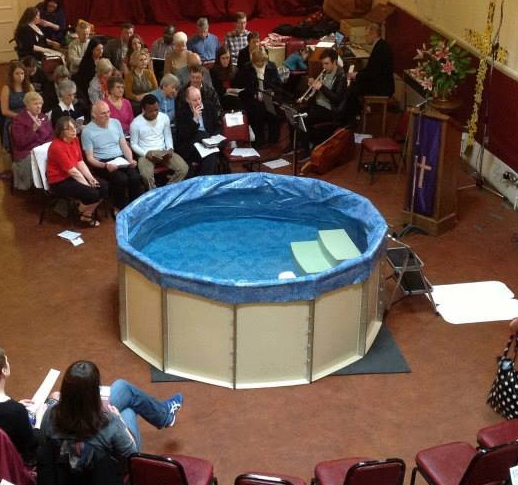 apostle flatpack baptistry