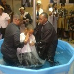 Portable baptistry hire