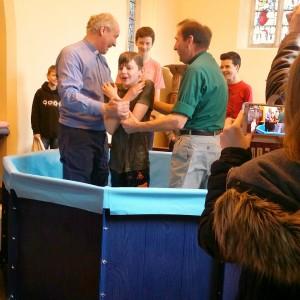 Baptism Joshua Al Saints Lydiard