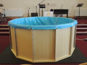 NewLife Belfast,new baptistry