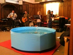 Special offer for Pentecost - Ultraflat baptistry