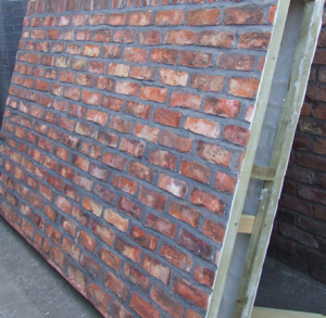brick effect fibreglass sheets