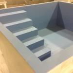 Large square Elim baptistry