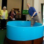 Baptistry pool liner