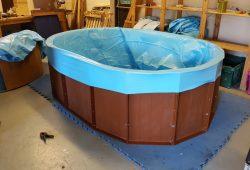 Flatpack Galilee baptistry