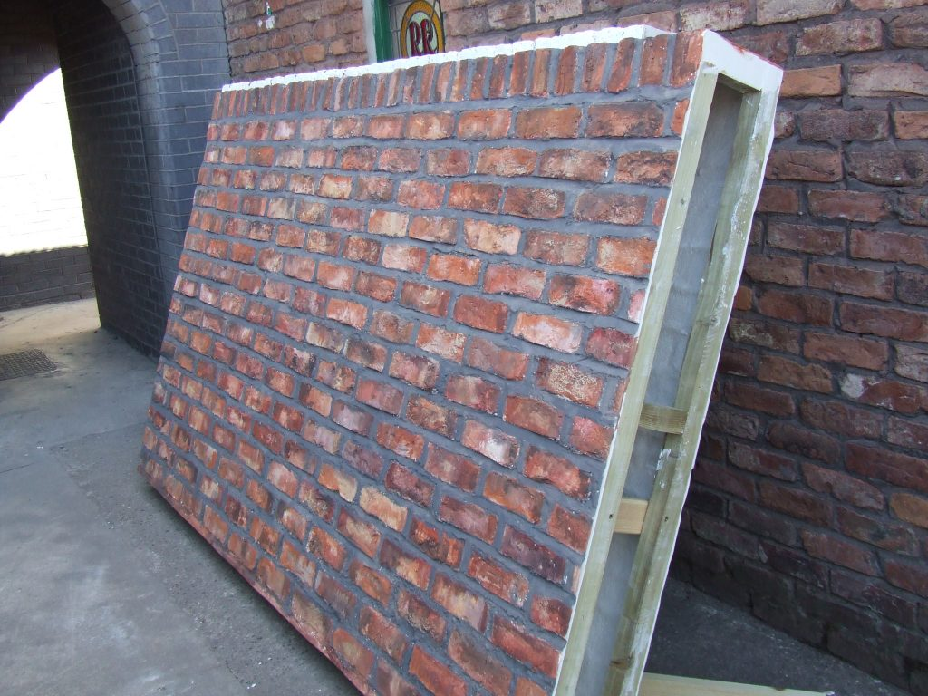 Fibreglass brick and tile sheets