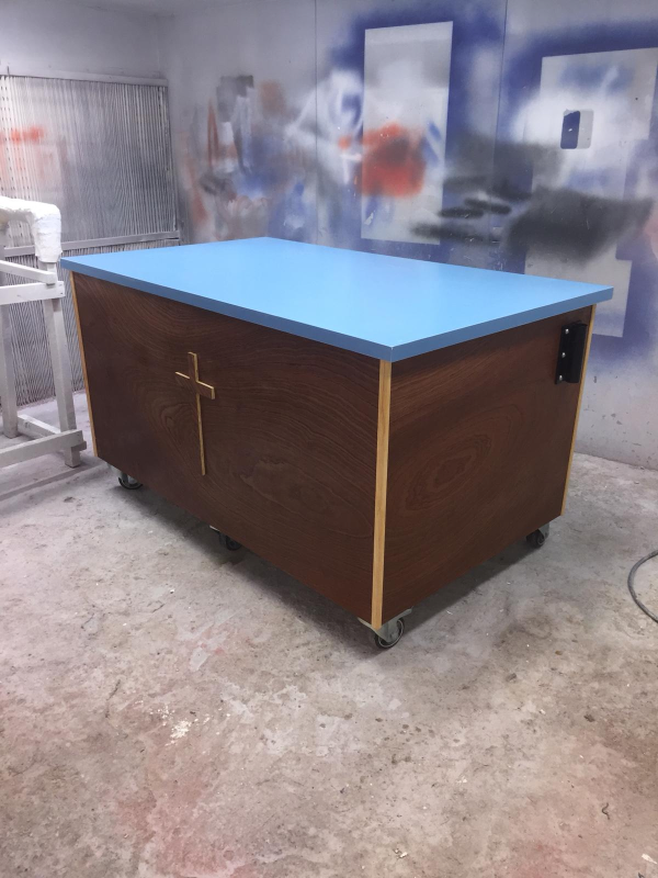 Mobile altar