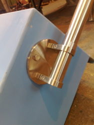 stainless steel handrail bracket metalwork