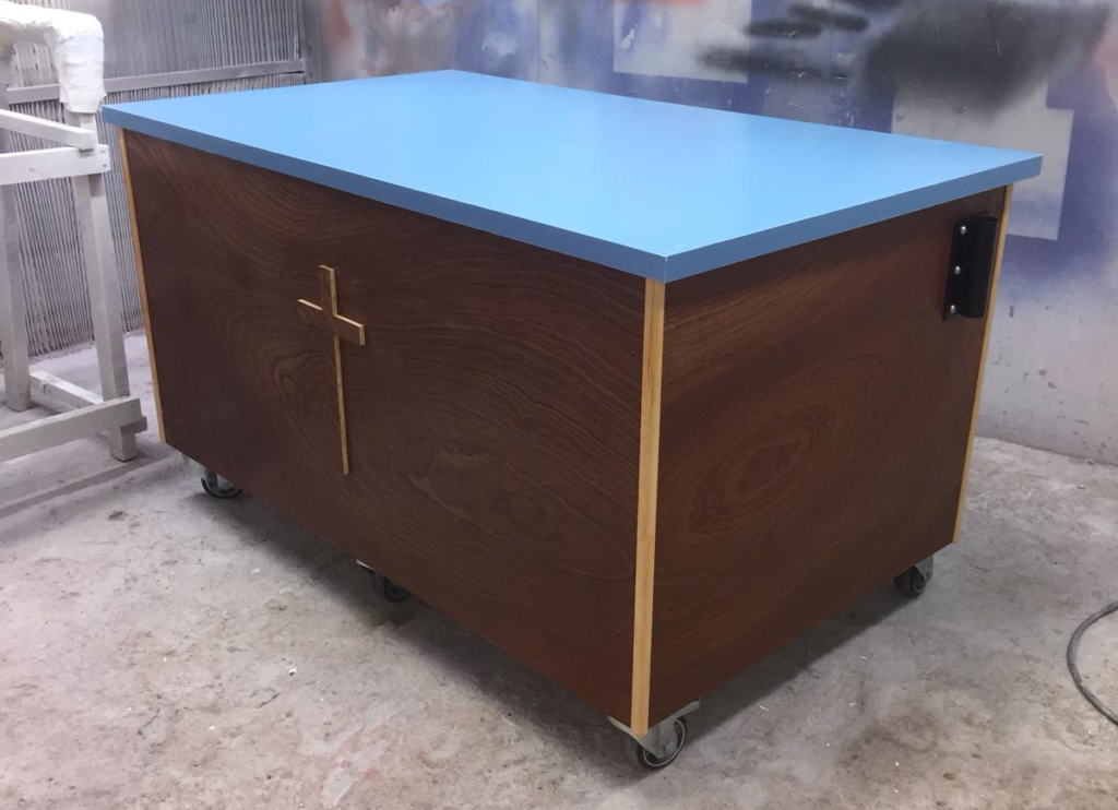 Mobile Altar Baptistries